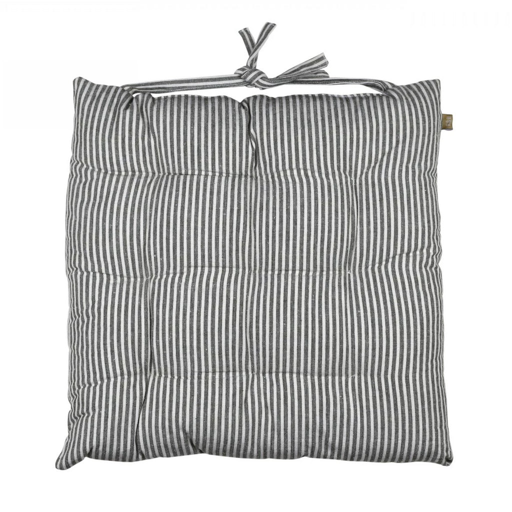 Striped Seat Cushion - Olive