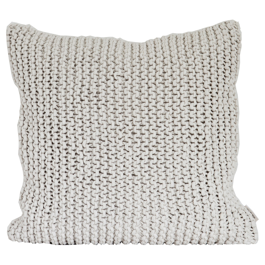 Rope Cushion - Off White