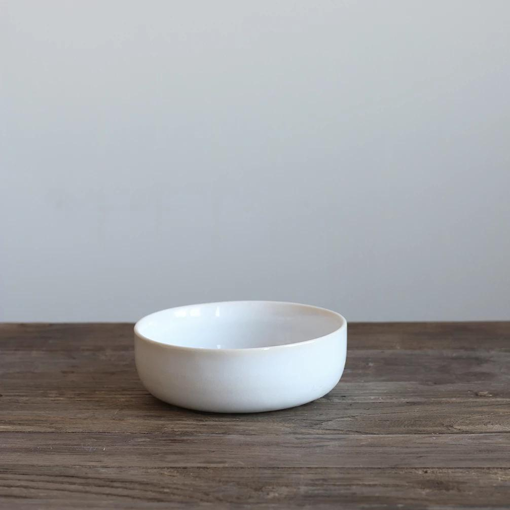 White Glazed Bowl - Small