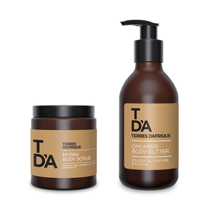 Ultimate Body Indulgence Gift Set - Terres d'Afrique