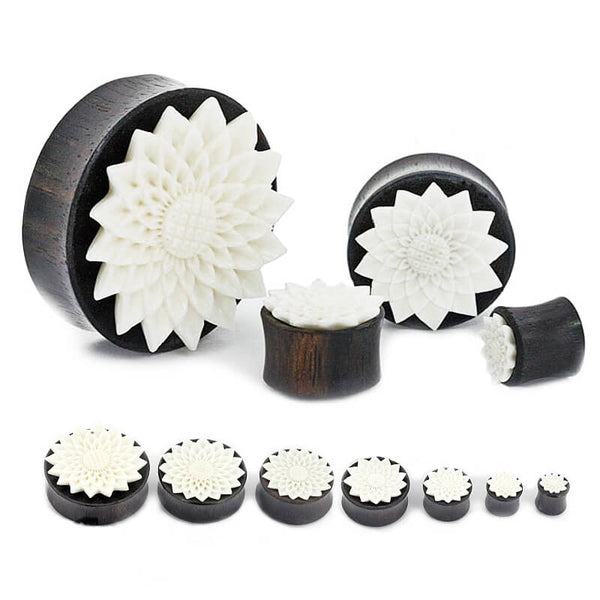 White Whisper Flower Plug - Ask and Embla Store