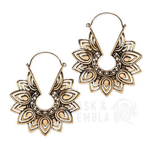 Cyra Mandala Inca Earrings (PAIR)