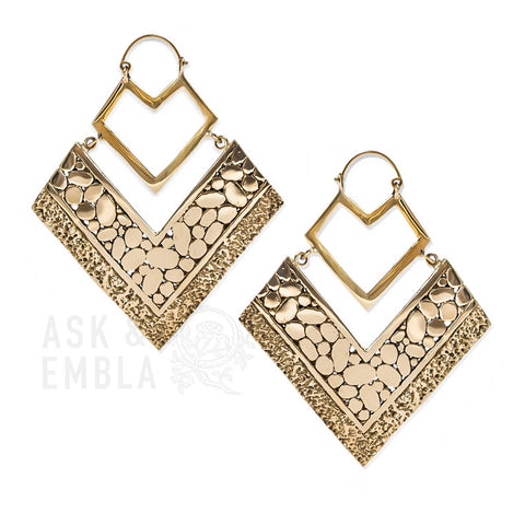 Valyar Armour Inca Earrings (PAIR)