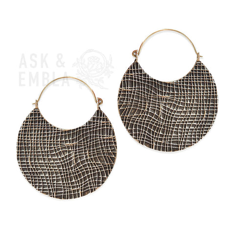 Allix Inca Earrings in Gold (PAIR)