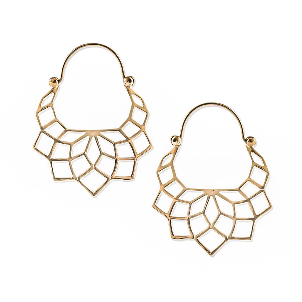 Elba Inca Earrings in Gold (PAIR)
