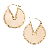 Morra 22kt Gold Plated Inca Earrings (PAIR)