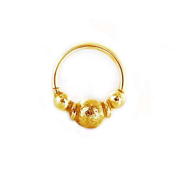 Finvarra Septum Ring in Gold - Ask and Embla Store