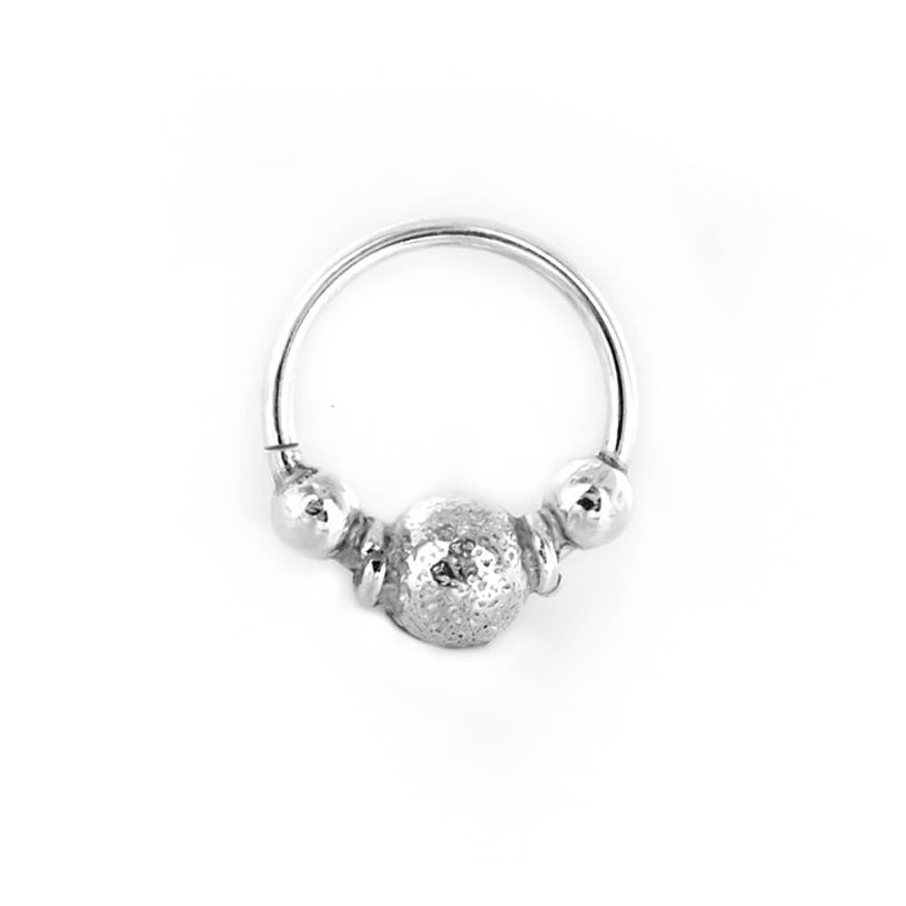 Finvarra Septum Ring in Silver - Ask and Embla Store