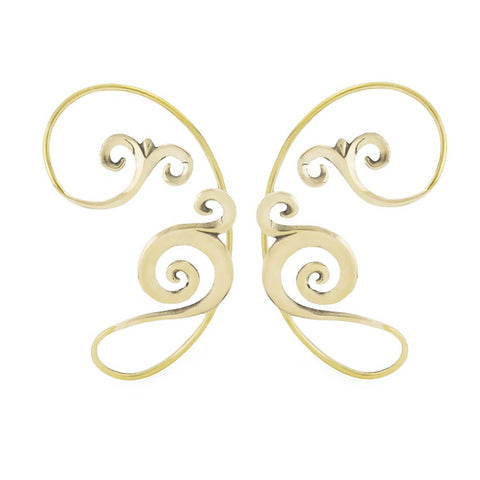 Zahara Brass Elven Ear Wraps (PAIR)