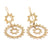 Gold Sunbeam Inca Earrings  (PAIR) - Ask and Embla Store