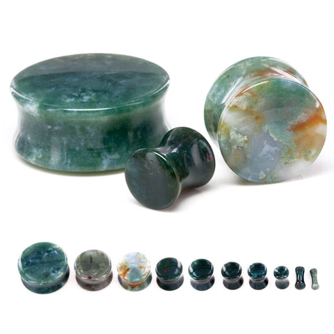 Persian Agate Stone Plug - Ask and Embla Store - 1