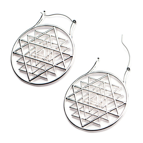 Valar Geometric Inca Earrings (PAIR)