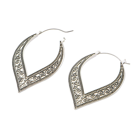 Arle Teardrop Inca Earrings (PAIR)
