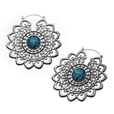 Hvala Mandala Inca Earrings (PAIR)