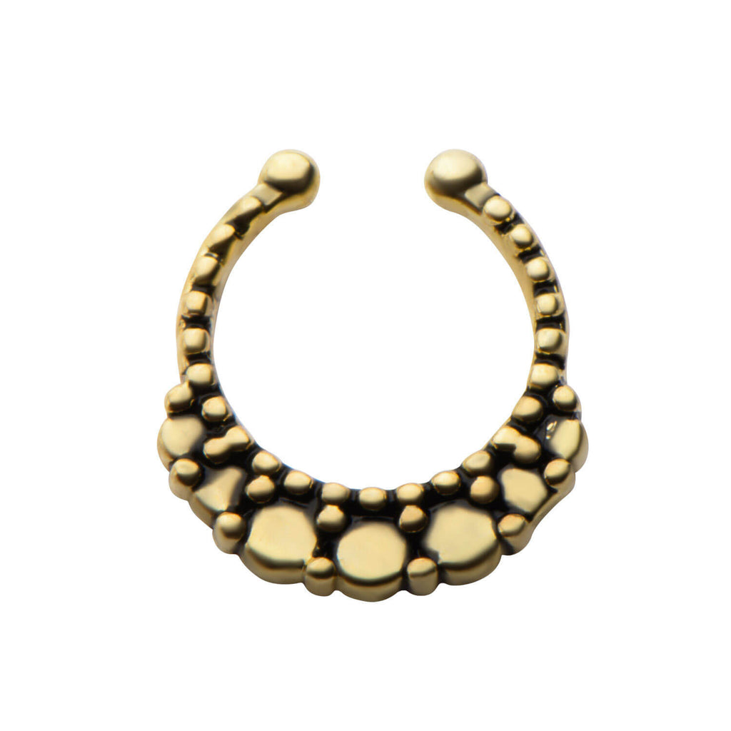 Kaia Faux Septum Clip - Ask and Embla Store - 1