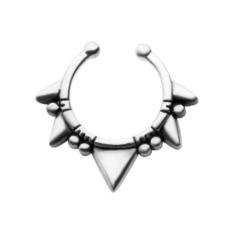 Katera Faux Septum Clip - Ask and Embla Store - 2
