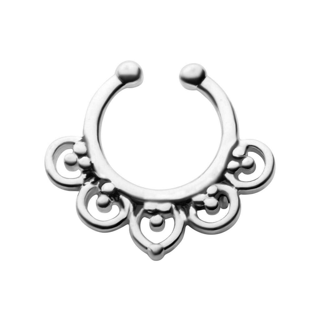 Enda Faux Septum Clip - Ask and Embla Store - 1