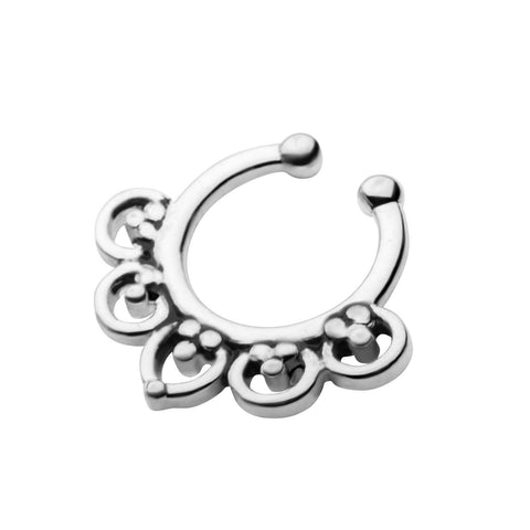 Enda Faux Septum Clip - Ask and Embla Store - 2