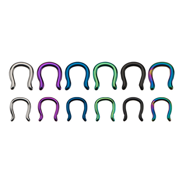Titanium Septum Staples - Ask and Embla Store - 1