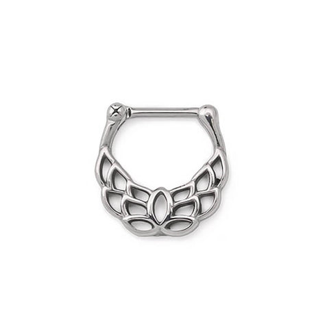 Akhtar Lotus Steel Septum Clickers