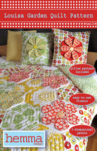 Louisa Garden Quilt Pattern With Tula Pink's Eden Fabric