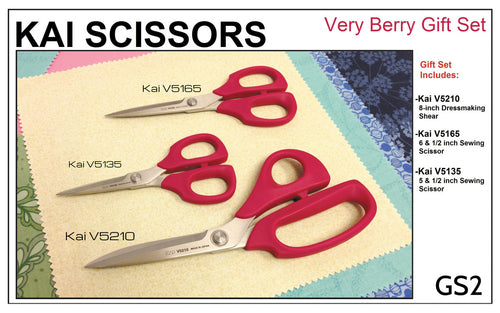 Kai Scissors Very Berry Gift Set