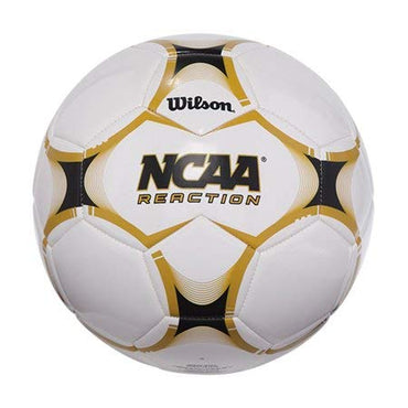 Wilson NCAA Reaction Size 5 Soccer Ball Deluxe Synthetic Cover