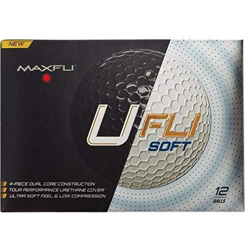 Maxfli Ufli Soft Golf Balls (12 Pack)