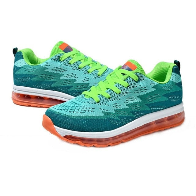 OUTAD Men Air Cushion Running Shoes Super Light Adult Sneakers Multi-Color Sports Shoes For Sport Training Gym Exercise Hot