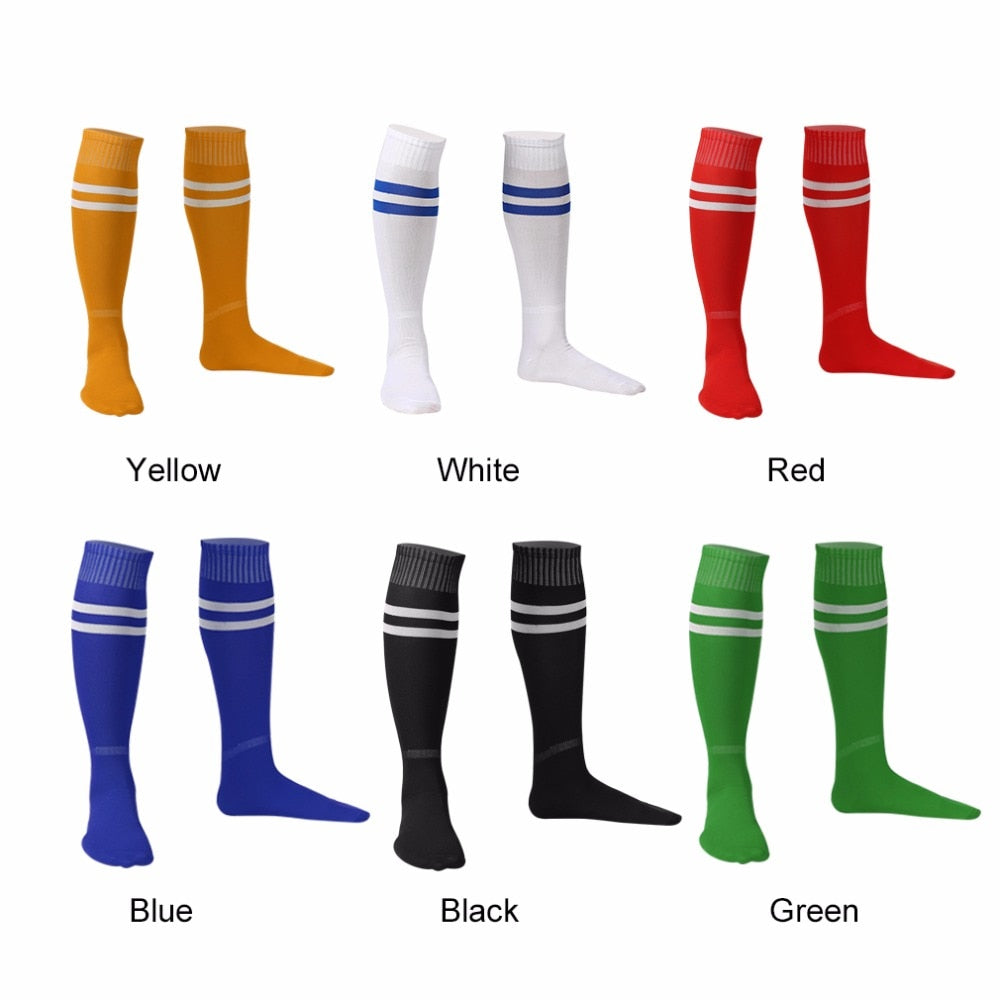 1 Pair Sports Socks Knee Legging Stockings Soccer Baseball Football Over Knee Ankle Men Women Socks Hot Sale Dropshipping