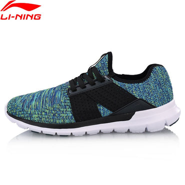 Li-Ning Men FLEX RUN V2 Light Weight Running Shoes Footwear LiNing Wearable Sport Shoes Breathable Sneakers ARKN005 XYP660