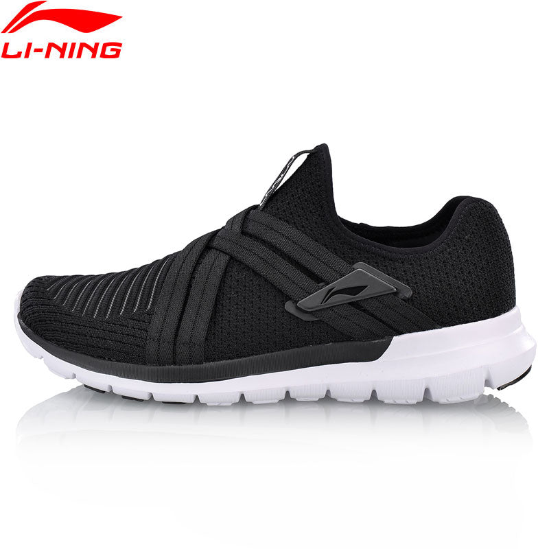 Li-Ning Men FLEX RUN V2 Running Shoes Flexible Light Weight LiNing Comfort Sport Shoes Cushion Wearable Sneakers ARKN005 XYP660