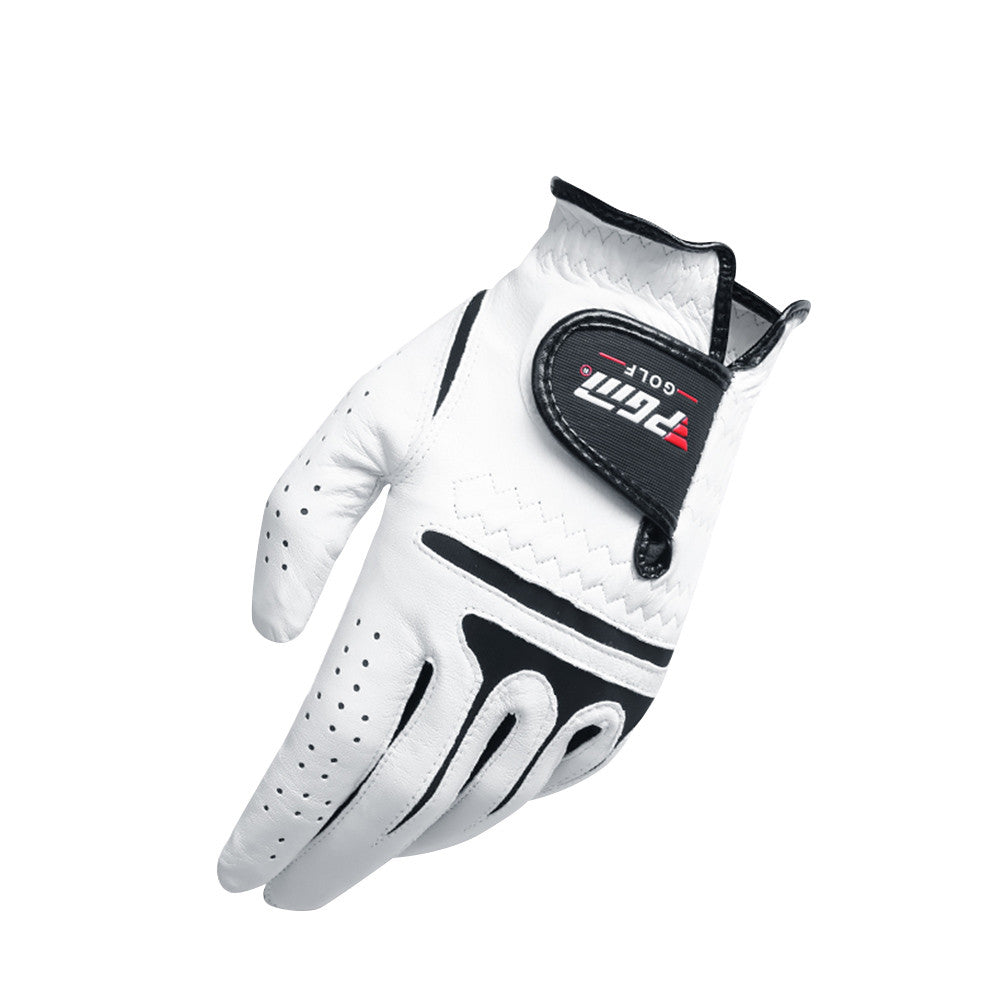 Men's Sport Golf Glove Left Hand Synthetic and Cabretta Leather Golf Gloves