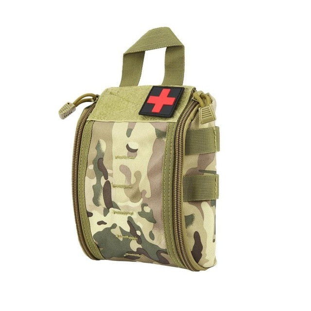 New Outdoor Portable First Aid Bag Tactical Medical Case Multifunctional Waist Pack Camping Climbing Emergency Bag Survival Kit