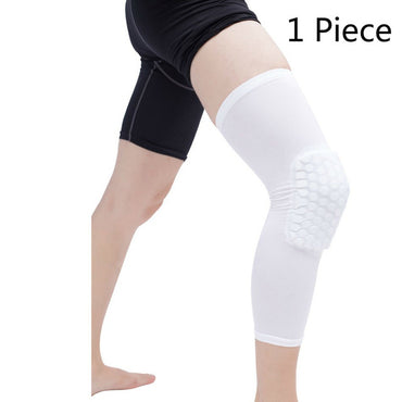 1 PC Honeycomb Sports Safety Training Elastic Kneepad Protective Gear Knee Support Pad Patella Foam Brace Basketball Volleyball