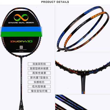 Badminton Racket 100% Carbon Badminton Racquet With Strung