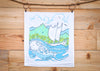 Cultivate Hawai' Moana Tea Towel