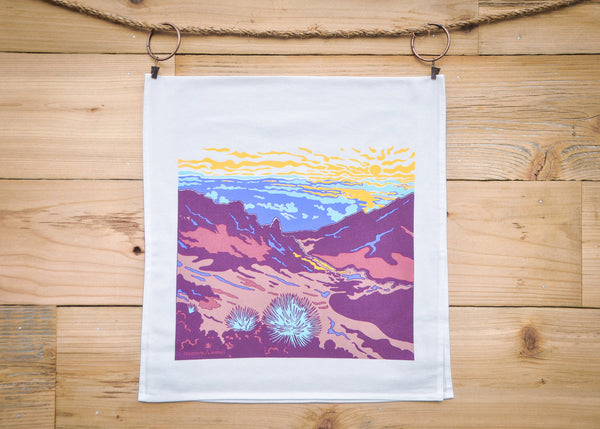 Cultivate Hawai'i Haleakalā Bay Tea Towel