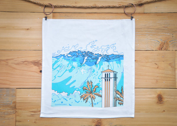 Cultivate Hawai'i Waimea Bay Tea Towel