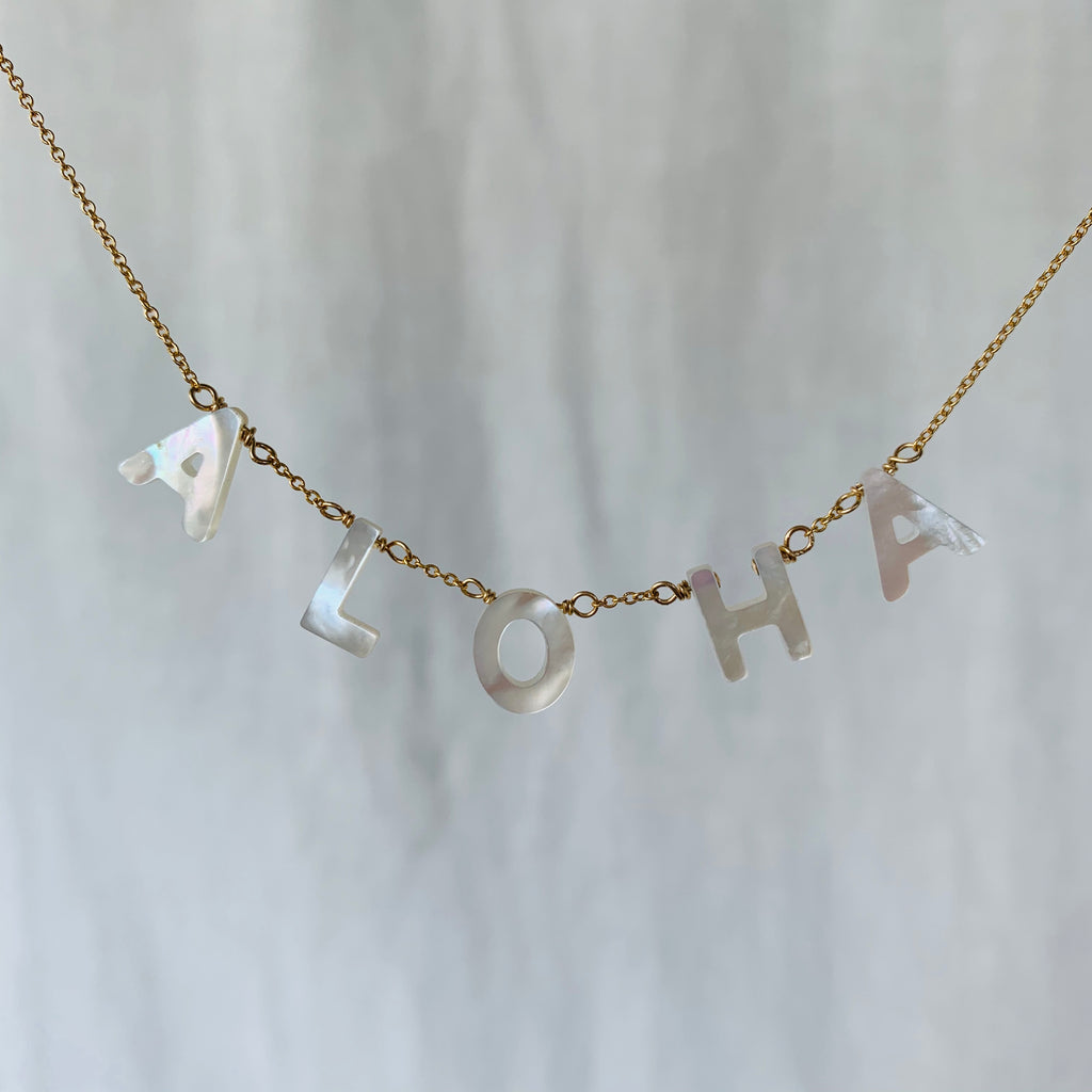 Kirsten Merrill Jewelry Aloha Mother Of Pearl Necklace