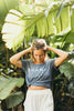 Guava Shop Shaka Tee in Navy