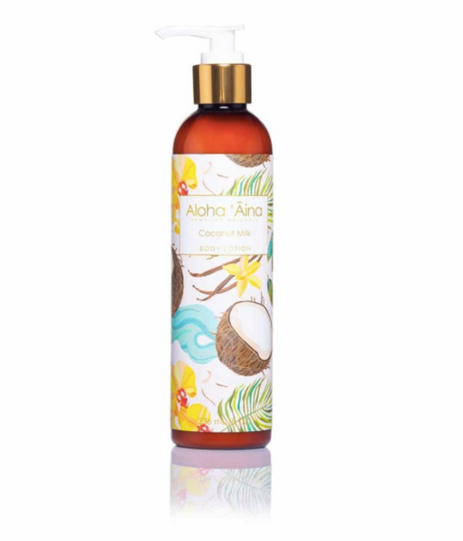 Hawaiian Aromatherapy Body Lotion – Coconut Milk