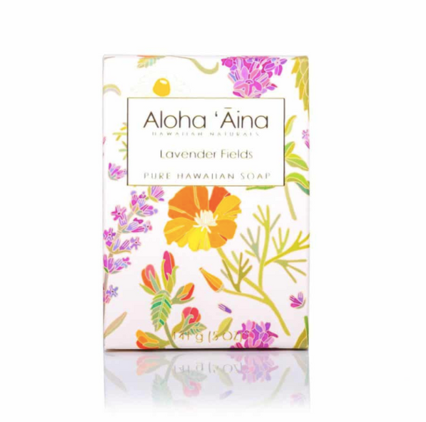Aloha Aina Hawaiian Aromatherapy Pure Soap – Lavender Fields