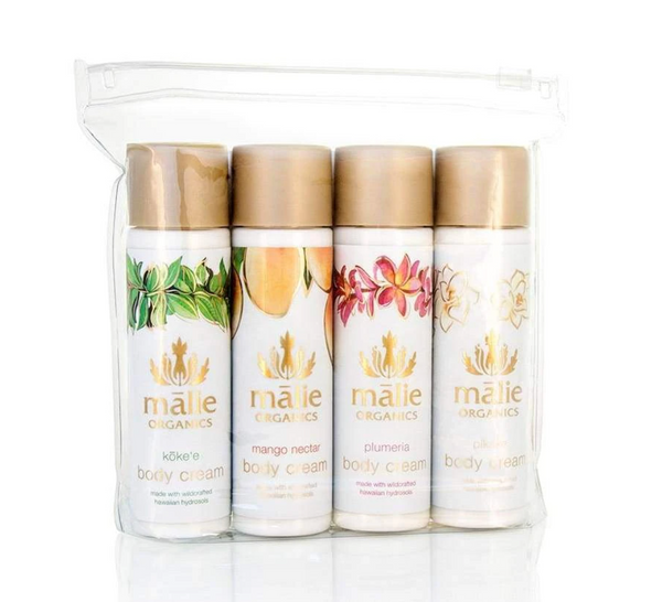 Malie Organics Body Cream Travel Gift Set