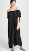 9 Seed Moonstone Off the Shoulder Maxi in Black