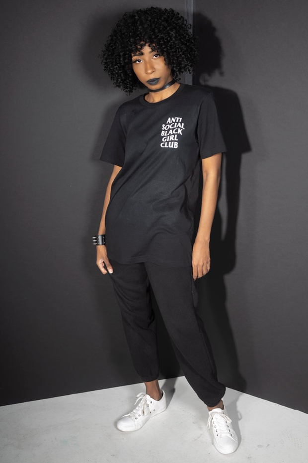 Anti Social Black Girl Club Tee