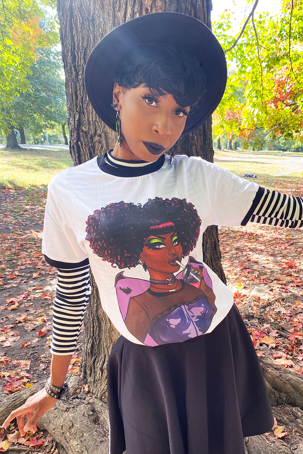 Vicky the Vampire (reVamped) Tee