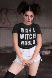 Wish A Witch Would Tee