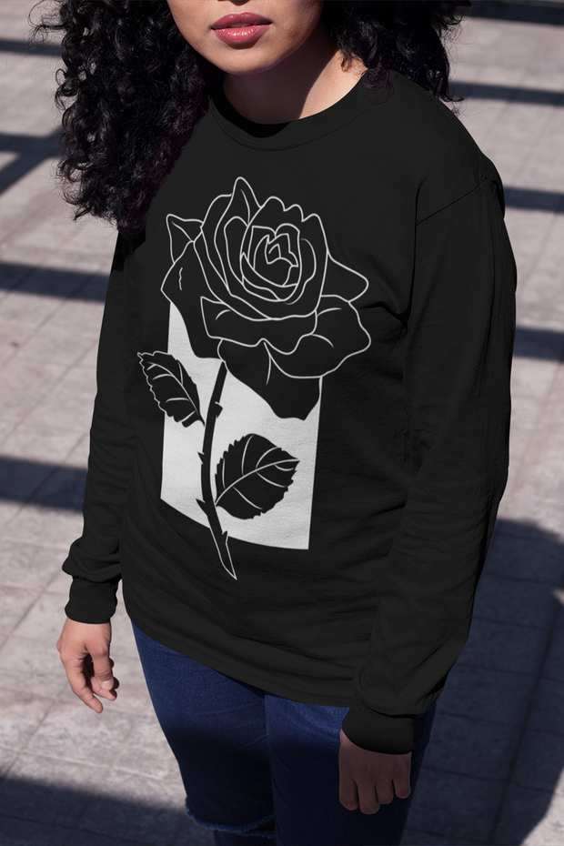Kiss From A Rose Long Sleeve Tee