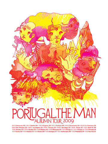 Portugal. The Man Tour 2009